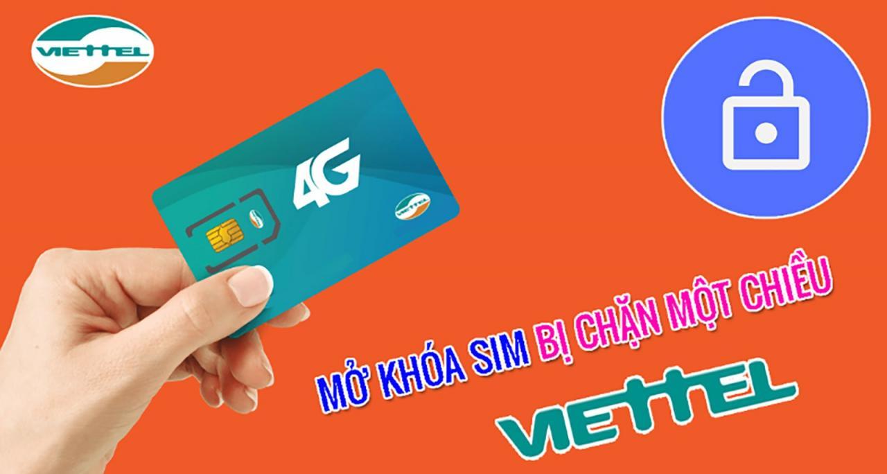 Cách mở khóa tạm thời sim Viettel bị chặn 1 chiều | Thủ thuật |  nghenhinvietnam.vn
