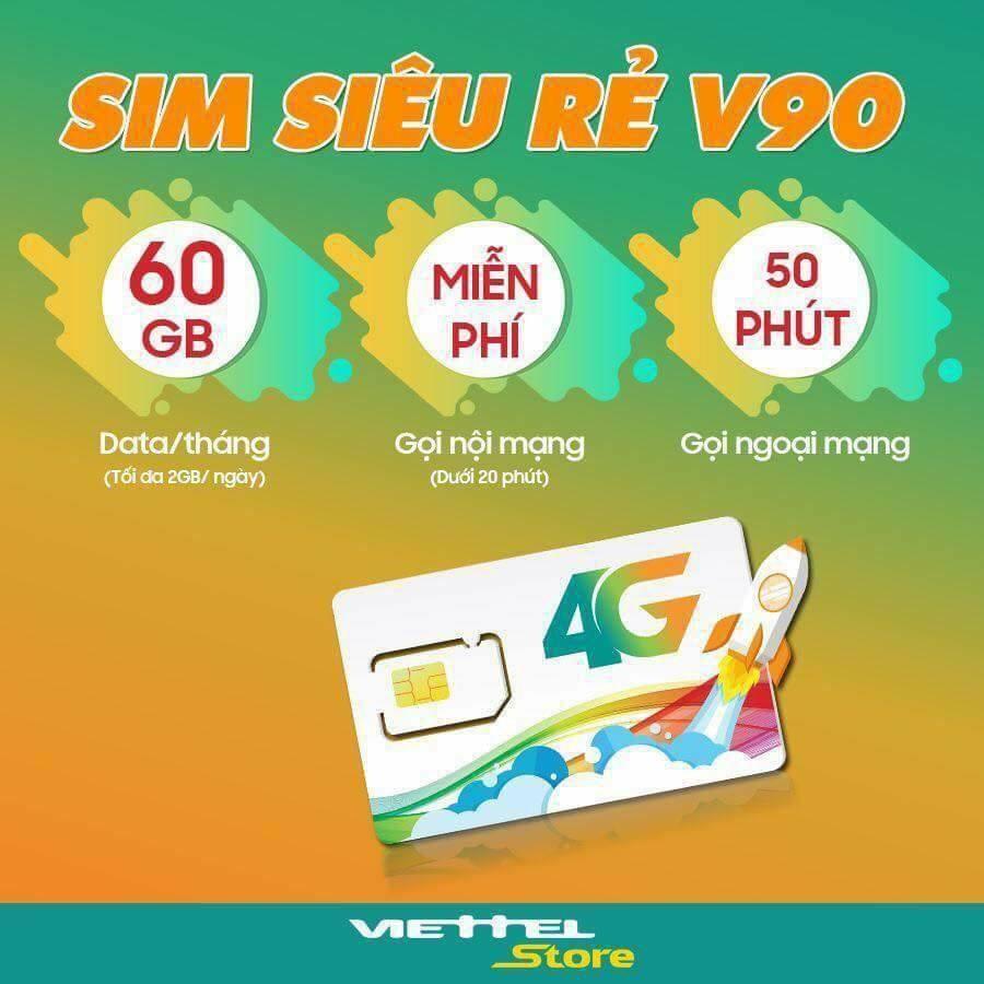 Bạn biết gì về sim V90 Viettel