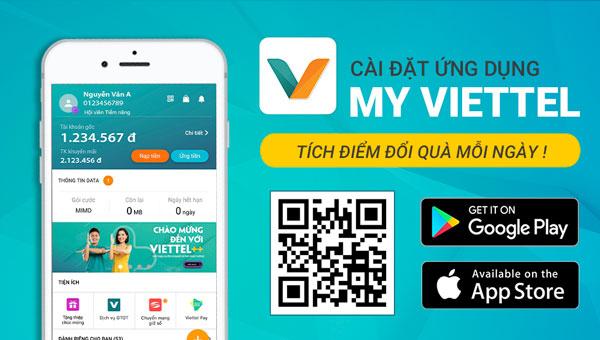 Hướng dẫn đăng ký, tải ứng dụng My Viettel - MobileCity